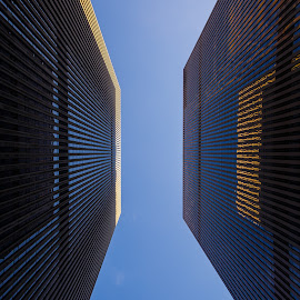 Mirrors by Lajos Fekete - Buildings & Architecture Office Buildings & Hotels ( office, buildings, reflections, nyc, ludovic )