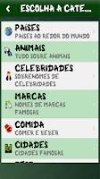 Screenshot of Hangman (Portuguese)