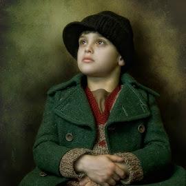 O. T. by George Petridis - Babies & Children Children Candids ( oliver, vintage, twist, boy, classic, portrait, soft )
