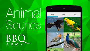 Screenshot of Animal Sounds (Bird,Dog,Cat)