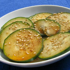 Easy Korean Cucumber Salad