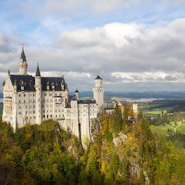 Autumn Neuschwanstein by Michael Strier - Buildings & Architecture Public & Historical ( bavaria, autumn, germany, castle, disney, neuschwanstein castle )