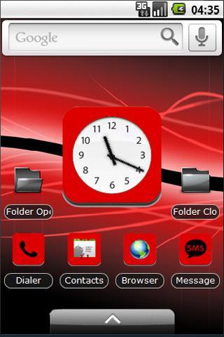 Red iPad Theme