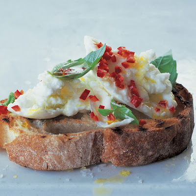 Crostini - Buffalo Mozzarella & Chilli