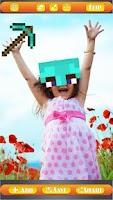 Screenshot of Photo Stickers: Minecraft