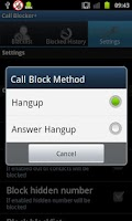Screenshot of Call Blocker+