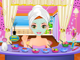 Screenshot of camouflage makeup girls games