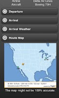 Screenshot of Flight Tracker