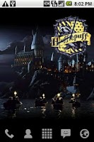 Screenshot of Harry Potter Hufflepuff Clock