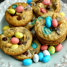 Easter Trail Mix Cookies