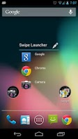 Screenshot of Swipe Launcher