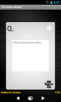 Screenshot of Board Master Army Flashcards