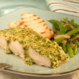 Halibut With Pesto Recipes