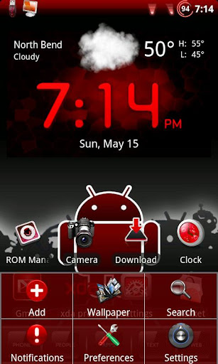 Red Honeycomb Theme Chooser