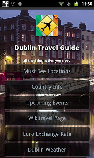 Dublin Offline Travel Guide
