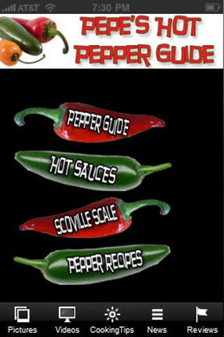 Pepes Hot Pepper Guide