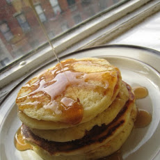 Birthday Buttermilk Pancakes