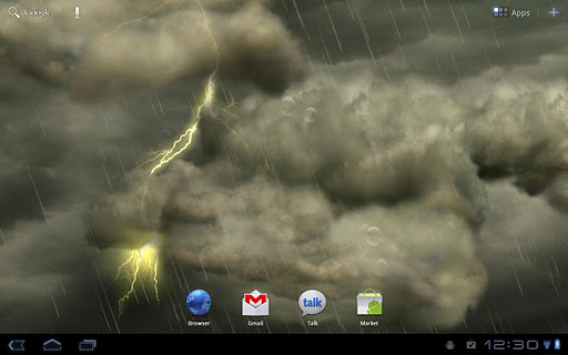 thunderstorm-free-wallpaper for android screenshot