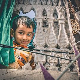 Sneak Peek by Muhammad Irfan Farooq - Babies & Children Children Candids ( child, pakistani, peek, sneak peek, kid )