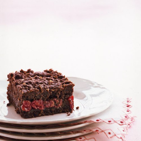 Chocolate-Cherry Crumb Bars