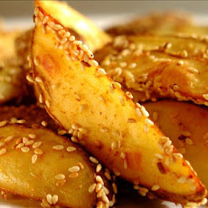 Spicy-Sesame Oven Fried Potatoes