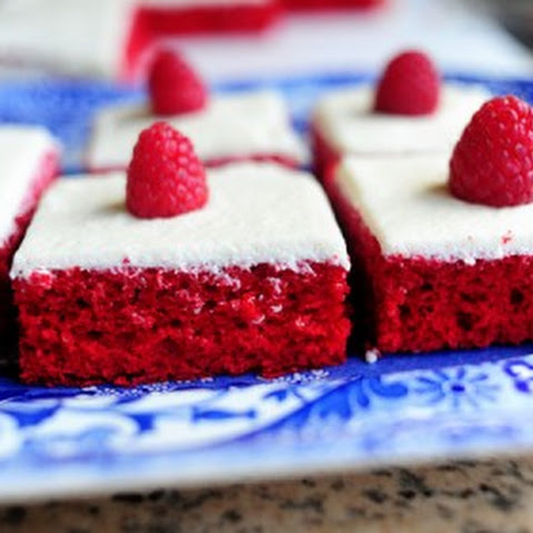 Red Velvet Chocolate Drenched Heartcakes Recipes — Dishmaps
