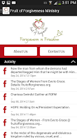 Screenshot of Fruit of Forgiveness Ministry
