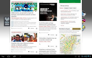 Screenshot of El Espectador 2.1