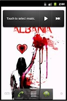 Screenshot of Albania Live Wallpaper