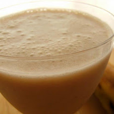 Cinnamon Banana Shake (Raw Food)