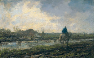 RIJKS: Jacob Maris: painting 1894