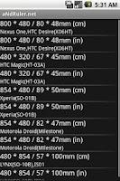 Screenshot of aNdRuler.net