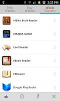 Screenshot of Free eBooks