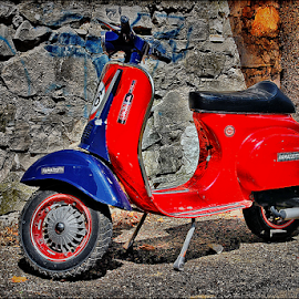 Vespa old by Josip Kopčić - Transportation Motorcycles (  )