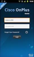 Screenshot of Cisco OnPlus Mobile