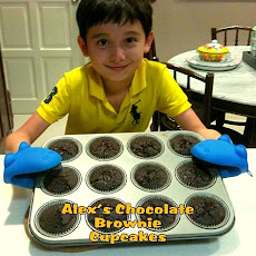 Alex's Chocolate Brownie Cupcakes