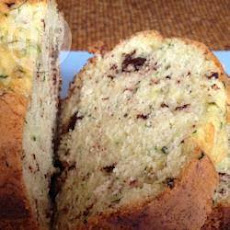 Courgette Bread with Chocolate Chips