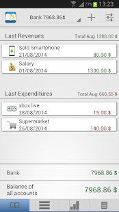 The Budget Book Pro screenshot for Android