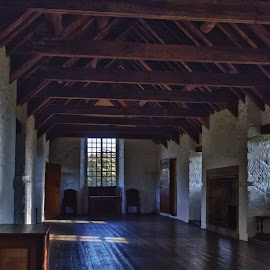 Aberdour Castle by Howie George - Buildings & Architecture Other Interior ( interior, great room, hallway )