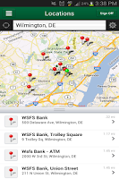 Screenshot of WSFS Bank Mobile