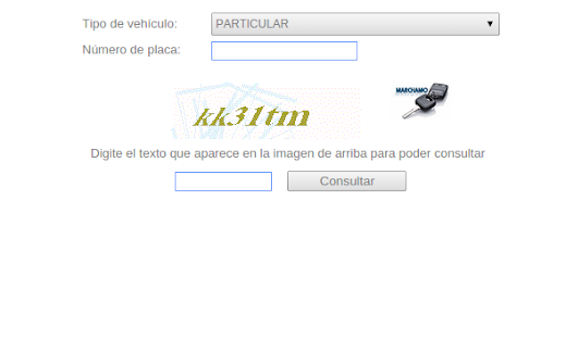 consultar valor del auto - screenshot