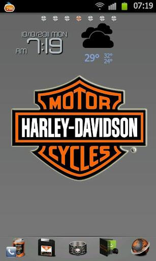 HarleyDavidson GoLauncherTheme
