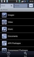 Screenshot of File Expert ClassicBlack Theme
