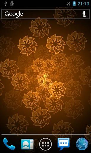 玩個人化App|霓虹燈花專業版動態桌布 Neon Flower免費|APP試玩