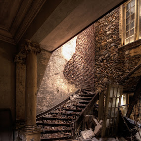 Die Treppe by Frank Quax - Buildings & Architecture Decaying & Abandoned