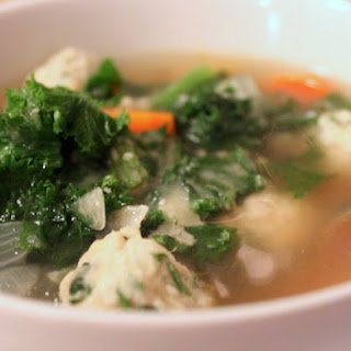 Lightened Up Italian Wedding Soup