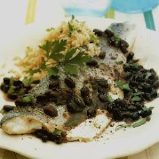 Steamed Sea Bass With Black Beans