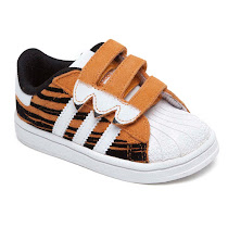 Adidas Superstar Tiger Trainers ZEBRA TRAINER