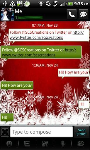 GO SMS - Season Greetings