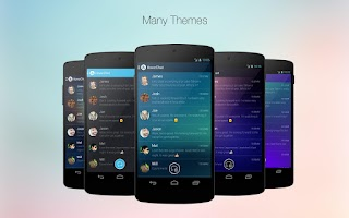 Screenshot of HoverChat (formerly Ninja SMS)